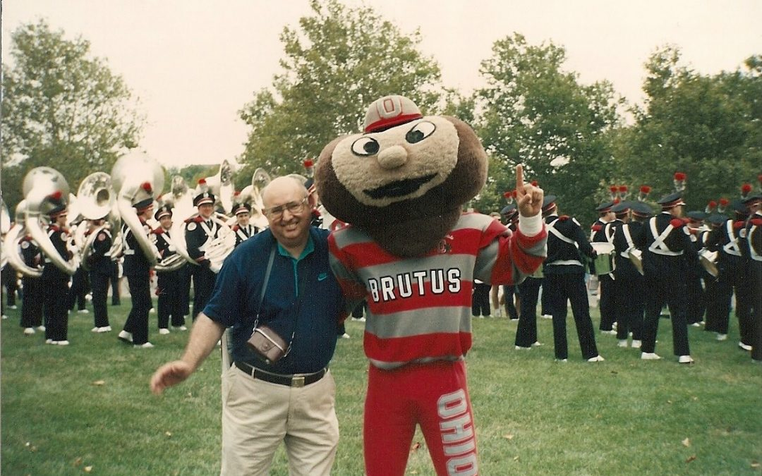 My Son was Brutus Buckeye: Doug Congrove, 1990-1992